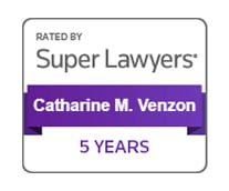 Rated by Super Lawyers Catherine M. Venzon 5 Years